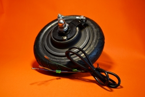 Мотор-колесо заднее 48в 350W 8'' для электросамоката