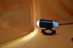 Фара для электровелосипеда  электросамоката 12 Вт линзованая мини U2